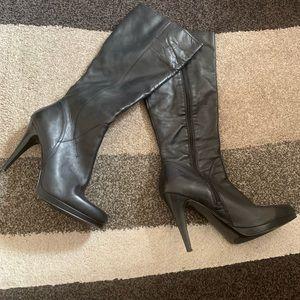 9e6791d08dca5 >>JONES NEW YORK<< Stilleto Knee High Heel Boots